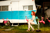 Retro Pinup Commercial & Portrait Photographer in Portland, OR