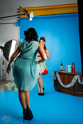Holiday Hottie Pinup Workshop