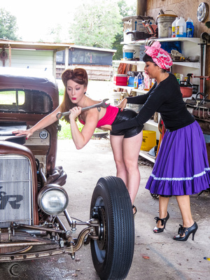Hot Rod Honey Pinup Workshop